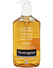 Neutrogena Acne Face Wash, Oil Free Facial Cleanser with Salicylic Acid, 269 mL