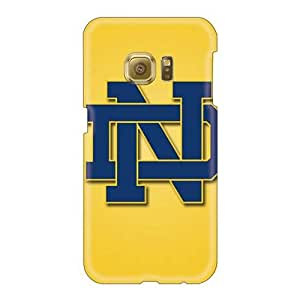 Samsung Galaxy S6 NMo42KXdX Customized Beautiful Notre Dame Fighting Irish Pictures Perfect Hard Cell-phone Cases -customcases88