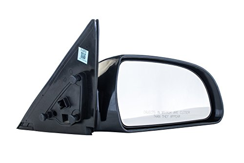 - Passenger Side Mirror for (2006 2007 2008 2009 2010) Hyundai Sonata Unpainted Heated Non-Folding Right Outside Rear View Replacement Door Mirror