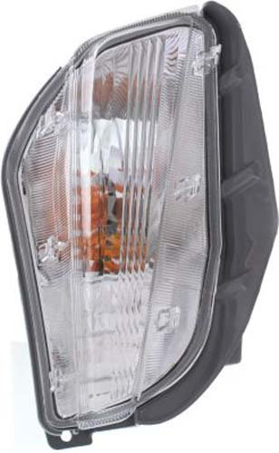 [Crash Parts Plus Passenger Side Halogen Clear Lens Turn Signal for 12-14 Toyota Prius V TO2533116] (Clear Signal Lenses)