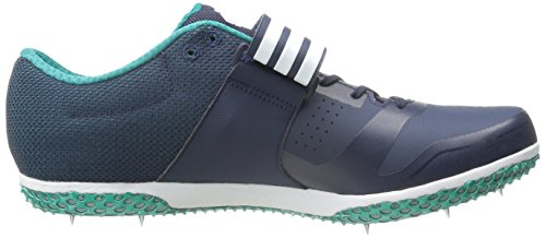 Scarpa Da Running Adidas Performance Adizero Hj Unisex Con Punte Blu Scuro / Bianco / Verde