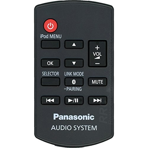 Panasonic RAK-SC989ZM Remote Control for Stereo System with iPod Dock Model SC-HC05 by DSK TV Supply