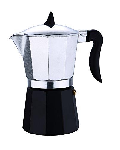 Renberg Chess - Einbau-Kaffeemaschinen  aluminium  kunststoffgriff und deckel 6p tazas 16.6cm
