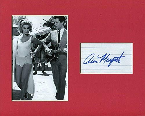 - Ann-Margret Viva Las Vegas Sexy Signed Autograph Photo Display W/Elvis Presley