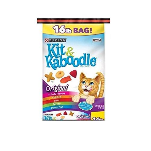 Best Dry Cat Food Kit & Kaboodle Original (16 lb) Purina Treats Favorites Wellness Feast nutrition Gourmet