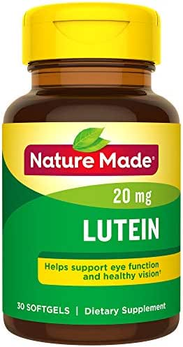 Nature Made Extra Strength Lutein 20 mg Softgels ( Pack Of 3 )
