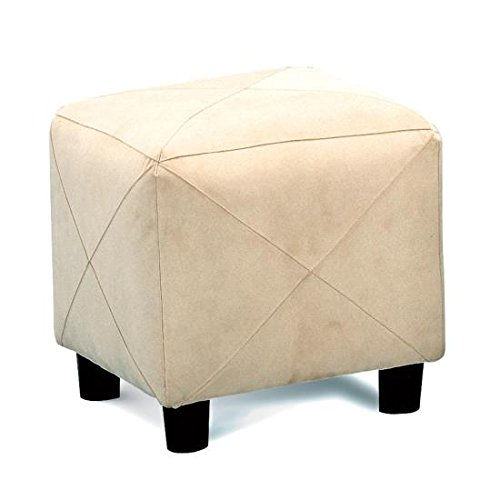 Coaster Home Furnishings Cube Shaped Storage Ottoman Taupe