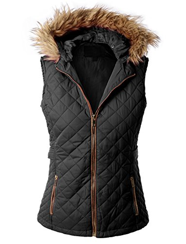 RubyK Womens Padded Quilted Puffer product image