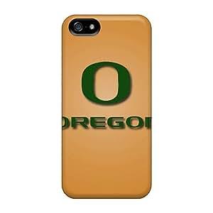 Excellent Design Oregon Ducks Phone Cases For Iphone 5/5s Premium Tpu Cases