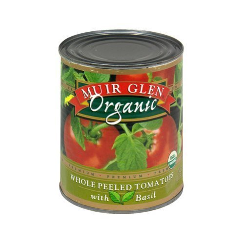Muir Glen Organic Whole Peeled Tomato, 28 Ounce - 12 per case.