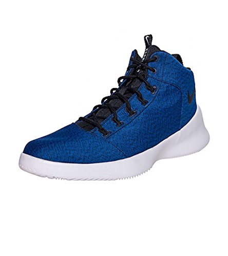 NIKE Mens Hyperfr3sh Basketball Shoe, Blue/Hyper Cobalt/White,759996-402 Size 10.5