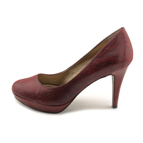 Circa Joan & David Pearly 2 Femmes Taille 7 Chaussures En Tissu Rouge Talons Chaussures