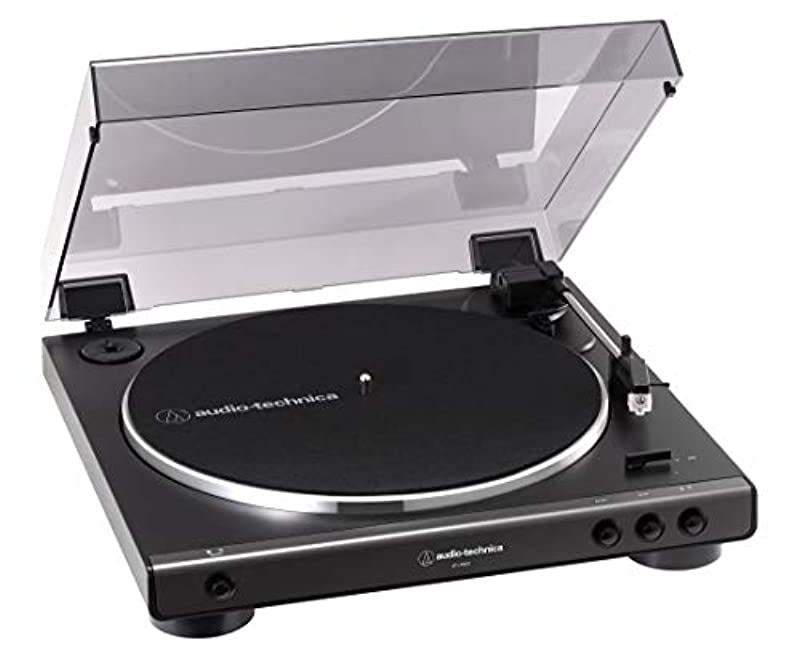 audio-technica 풀 오토 레코드 플레이어 AT-LP60X