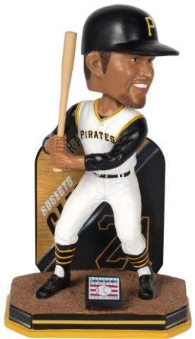 MLB Pittsburgh Pirates Roberto Clemente Name-Bobblehead, 8'' by Forever Collectibles