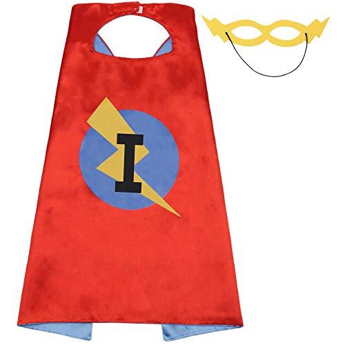 Kids Superhero Cape, Superhero Costume, Superhero Toys for Kids, Flash Superhero Toy, Superhero Costumes for Girls, Kids Dress Up (Cape-I) for $<!--$10.99-->