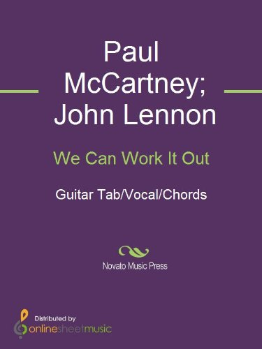 We Can Work It Out - Kindle edition by John Lennon, Paul McCartney ...