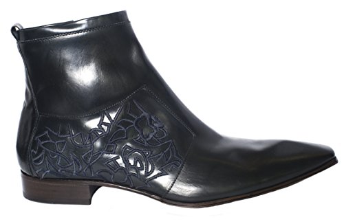 Jo Ghost 3476 blackleather ankle boots