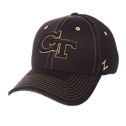 (Zephyr NCAA Georgia Tech Men's Undertaker Hat, X-Large, Black )