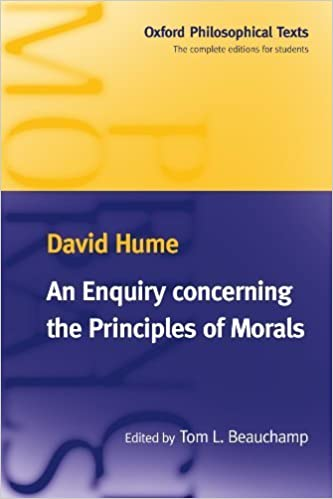 An Enquiry concerning the Principles of Morals (Oxford Philosophical Texts) by David Hume (1998-05-28)