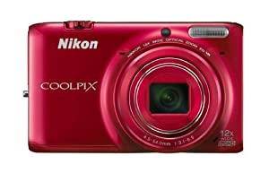Nikon COOLPIX S6500 16MP Digital Camera with 12x Zoom and Built-in Wifi