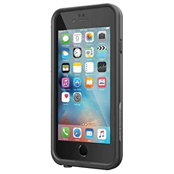 """Lifeproof FRE SERIES iPhone 6 Plus/6s Plus Waterproof Case (5.5"""" Version) - Retail Packaging - BLACK(not compatible with iphone 6/6s)"""