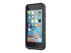 """Lifeproof FRE SERIES iPhone 6 Plus/6s Plus Waterproof Case (5.5"""" Version) - Retail Packaging - BLACK(not copatible with iphone 6/6s)"""