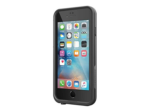 "Lifeproof FRE SERIES iPhone 6 Plus/6s Plus Waterproof Case (5.5"" Version) - Retail Packaging - BLACK(not compatible with iphone 6/6s)"