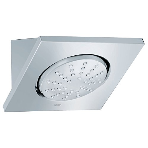 Rainshower F-Series 1-Spray 5 In.  Showerhead With Integrated Mounting (Grohe Shower Panel)