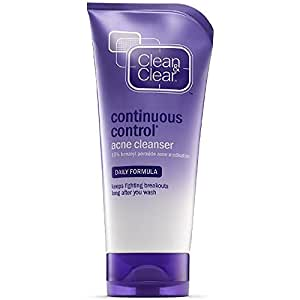 Clean & Clear Continuous Control Acne Cleanser, 5 Ounce (Pack of 2)