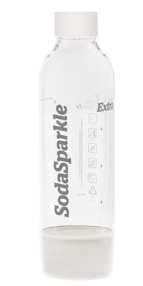 Soda Sparkle 1L Bottle, to Use with the Original and Eco Soda Maker - White