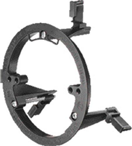 Arlington LVR1 Low Voltage Smoke Detector Mounting Bracket, Round, Black, 25-Pack Review
