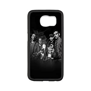 Coldplay Samsung Galaxy S6 Cell Phone Case White L0534851