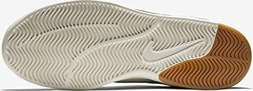 Nike Air Max Bruin Vapor Leather Sneakers Light Bone/Sail/Gum Light Brown Mens 11