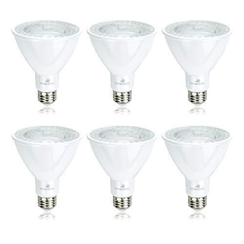 Enshine 75W Equivalent, 12W Led Light Bulb PAR30, E26 Base, 1050LM, Neutral White (5000K), Indoor, Dimmable ETL-Listed