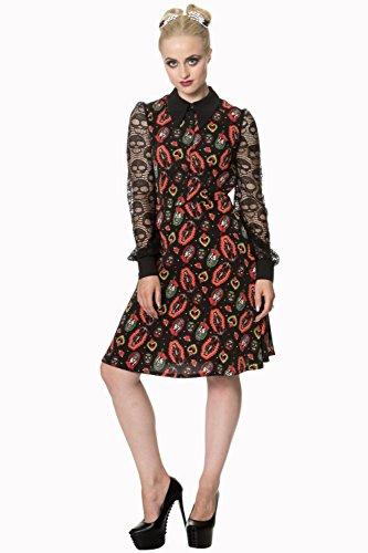 Dress Banned Sacro Cuore alto collo Alternative - Black / XS