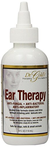 SynergyLabs Dr. Gold's Ear Therapy Tea-Tree Oil Cleans, Disinfects And Deodorizes Ear Infection Dog 4 fl. oz. (Dr Gold Ear Therapy)