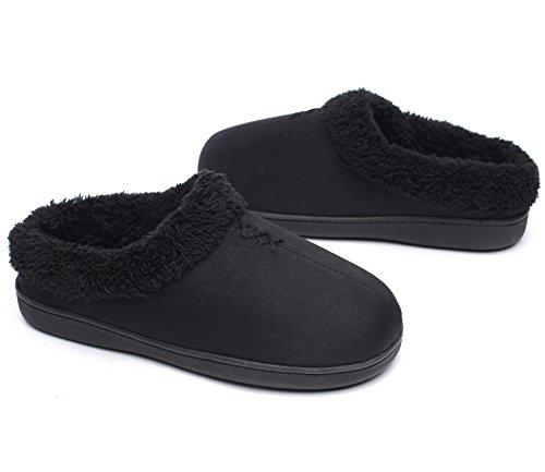 donna Pantofole donna Black Ofoot Pantofole Ofoot w1Oza4Sq