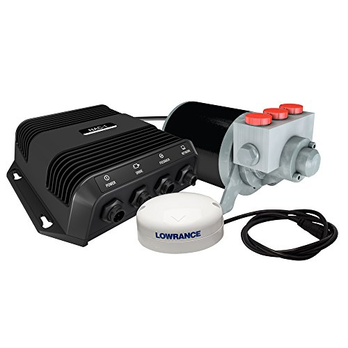 - Lowrance 000-11748-001 Outboard Autopilot System for Hydraulically Steered Vessels