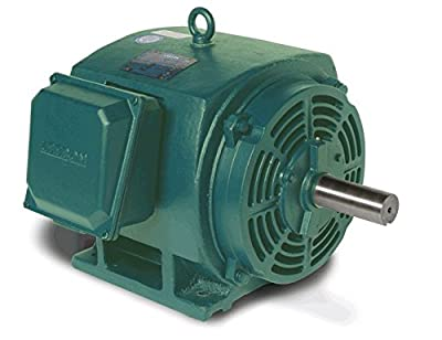 """New H/D Leeson Electric Motor 15hp 3 phase 208/230/460 254T frame 1 5/8"""" shaft 170065"""