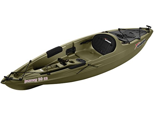 Sun Dolphin Journey Sit-on-top Fishing Kayak (Olive, 10-Feet)