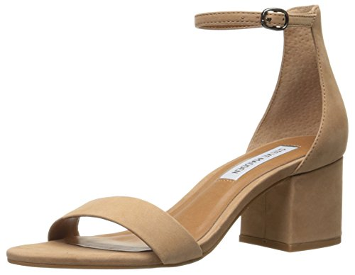 Steve Madden Women's Irenee Dress Sandal Tan Nubuck 8 M US