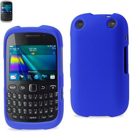 Reiko RPC10-BB9310NV Premium Rubberized Protective Cover for Blackberry Curve 9310 - Research In Motion - 1 Pack - Retail Packaging - Navy (Rubberized Blackberry Curve)