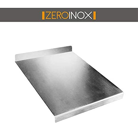 ZeroInox spianatoio Tabla de Cortar de Acero Inoxidable ...