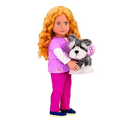 Our Generation Anais Veterinarian Doll: Toys & Games