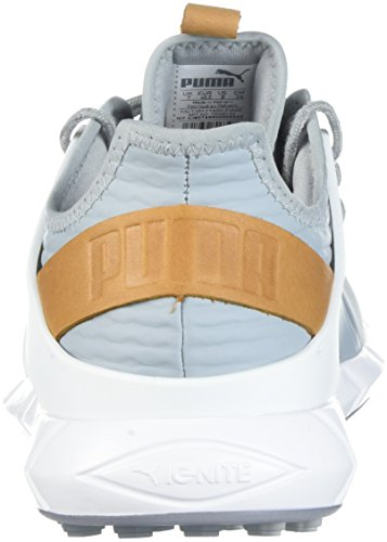 Puma Ignite Pwrsport da Uomo Quarry/Team Gold/White