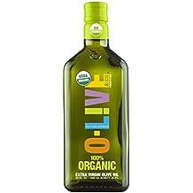 O-Live 100% Organic Extra Virgin Olive Oil - 1 Liter