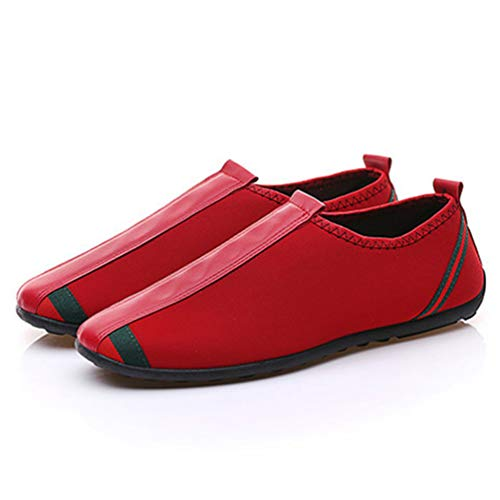 Lfeu Lona Hombre De Deporte Rojo Zapatillas AqWA0Oa