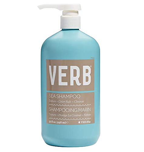 Verb SEA SHAMPOO 32oz Texture and color safe by verb