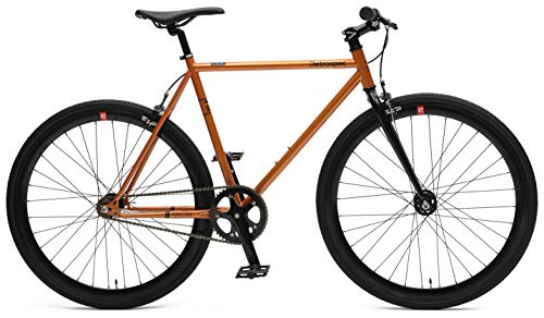 Retrospec Bicycles Mantra V2 Fixed Gear Bicycle with Sealed Bearing