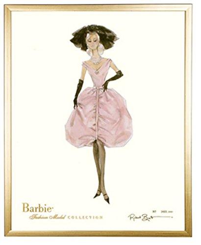 amazon com barbie limited blush vintage barbie prints barbie